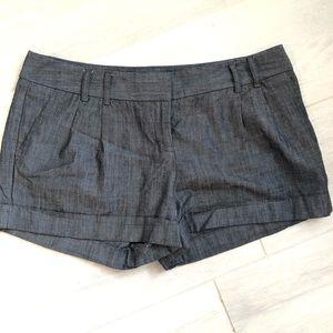 Shorts Express sz 8  waist 34 Gray Ladies